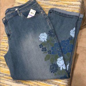 Style&Co-boyfriend Curvy Jeans